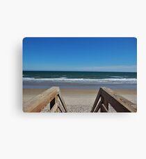 Topsail Beach Canvas Print