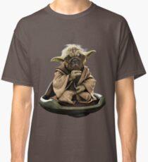 Yoda Pug Star Wars Tee Classic T-Shirt