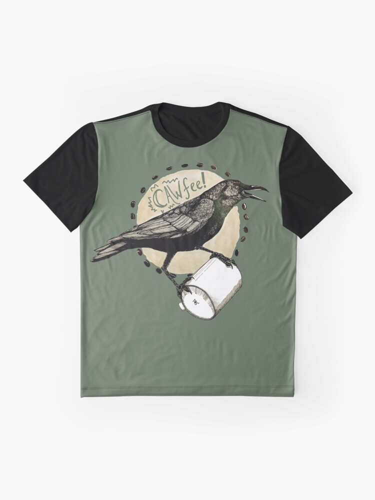Alternate view of Crows love CAW-fee Graphic T-Shirt