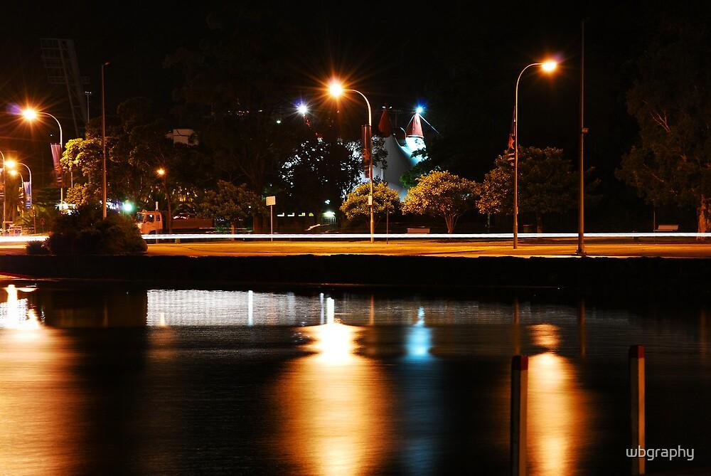 Light streaks by wbgraphy