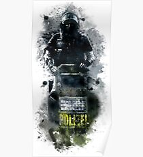 Rainbow Six Siege Blitz Painting Poster