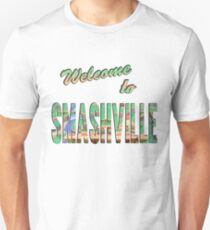 Welcome to Smashville Unisex T-Shirt