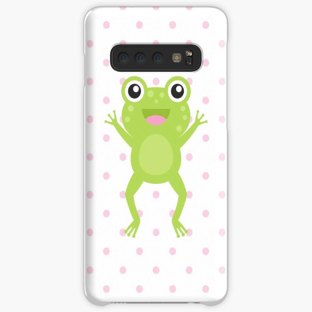 Kawaii Jumping Frog Case & Skin for Samsung Galaxy