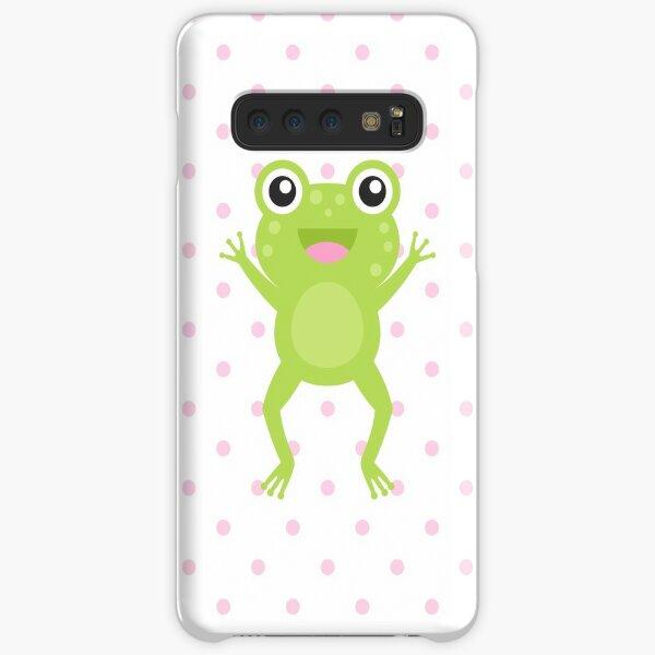 Kawaii Jumping Frog Samsung Galaxy Snap Case