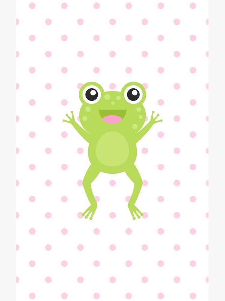 Kawaii Jumping Frog by mycutelobster