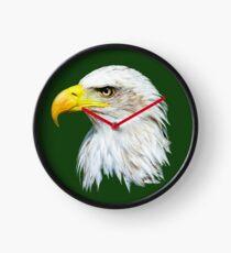 Bald Eagle Head Clock