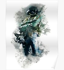 Rainbow Six Siege Jager Painting Poster