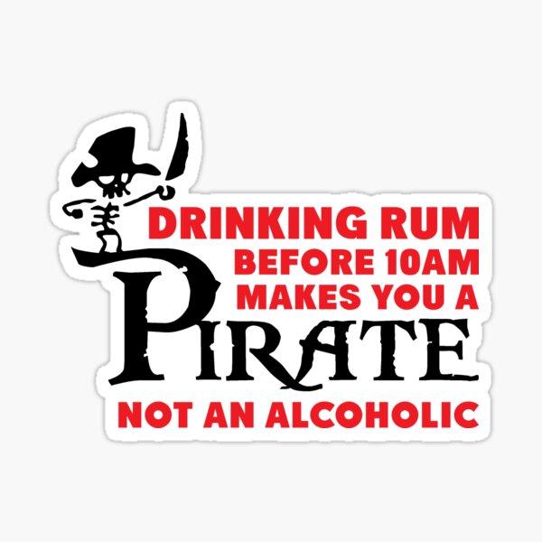 pas un alcoolique. Sticker