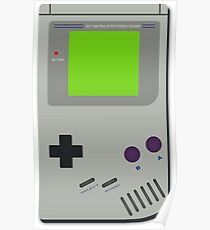 Video Game Console GameBoy Color Poster