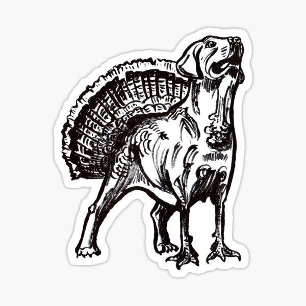 Puppurkey Sticker