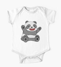Excited Panda One Piece - Short Sleeve