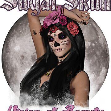 Sugar Skull Vision of Beauty by futureimaging