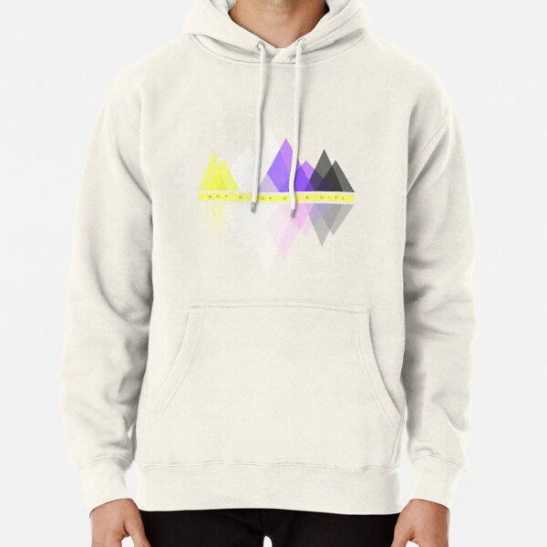 Not a Boy or a Girl Pullover Hoodie