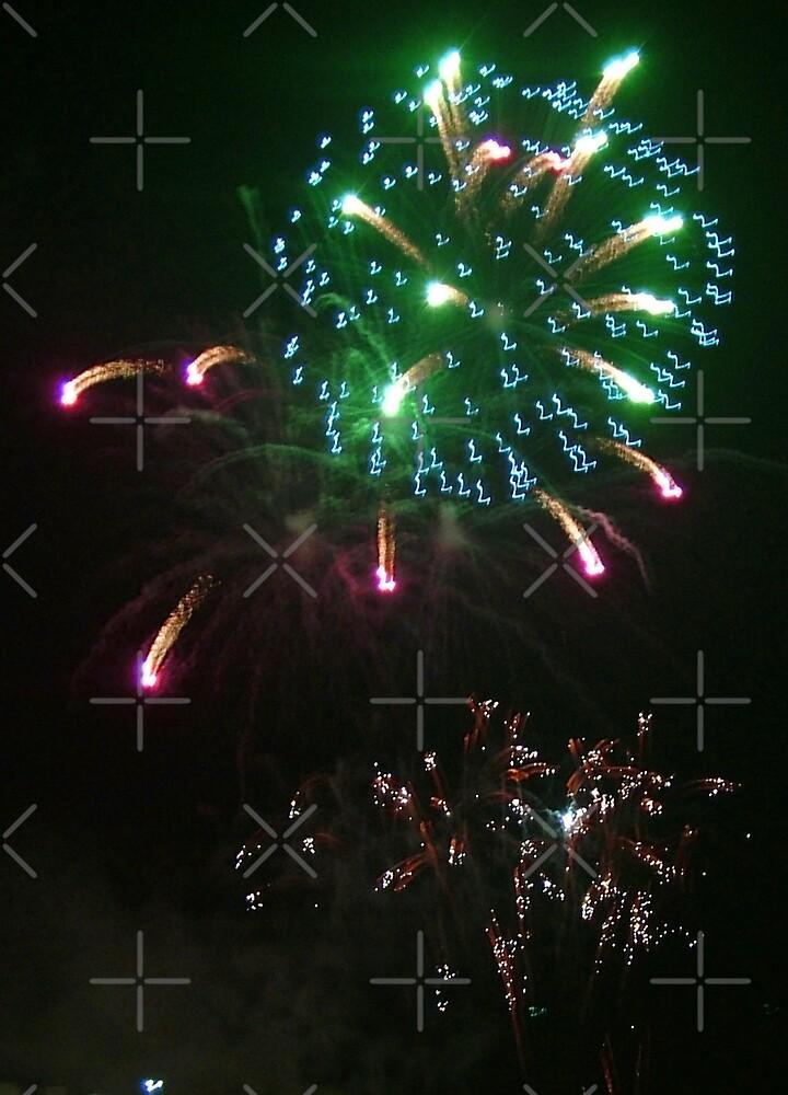 Fireworks III by Tom Gomez