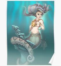 Sea Serpent Queen Poster