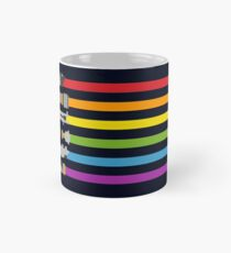 Lightsaber Rainbow Mug
