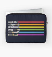 Lichtschwert Regenbogen Laptoptasche