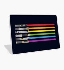 Lightsaber Rainbow Laptop Skin