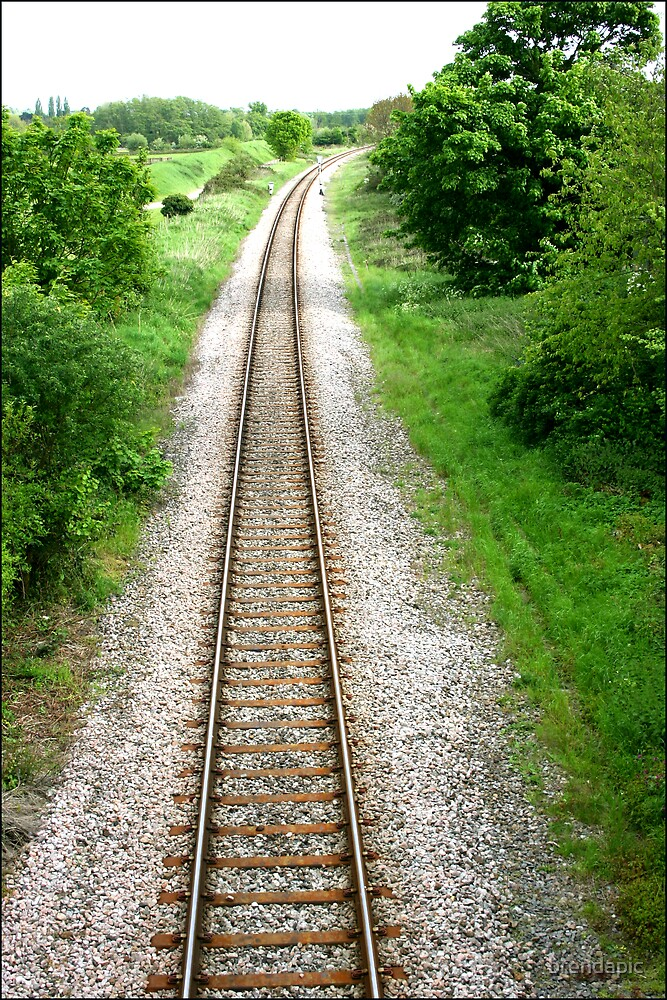 Railway Line by brendapic