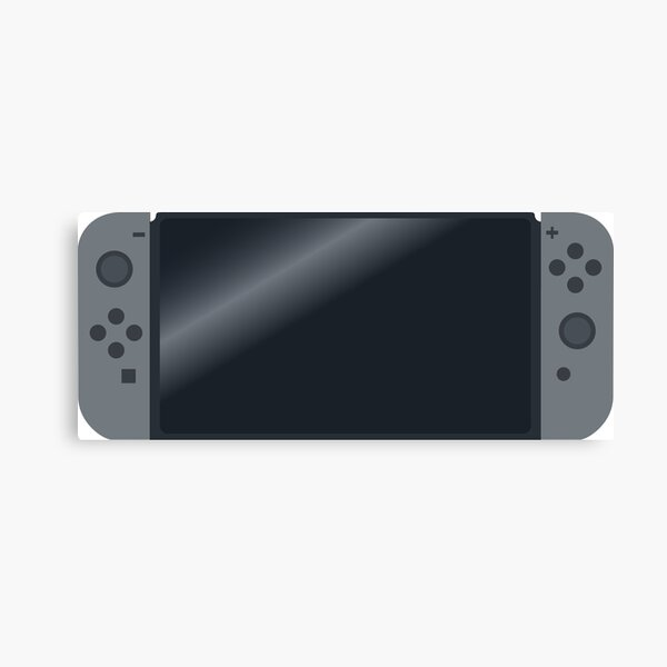 Video Game Inspired Console Nintendo Switch Canvas Print