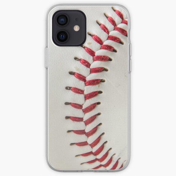 Worn Baseball iPhone Soft Case
