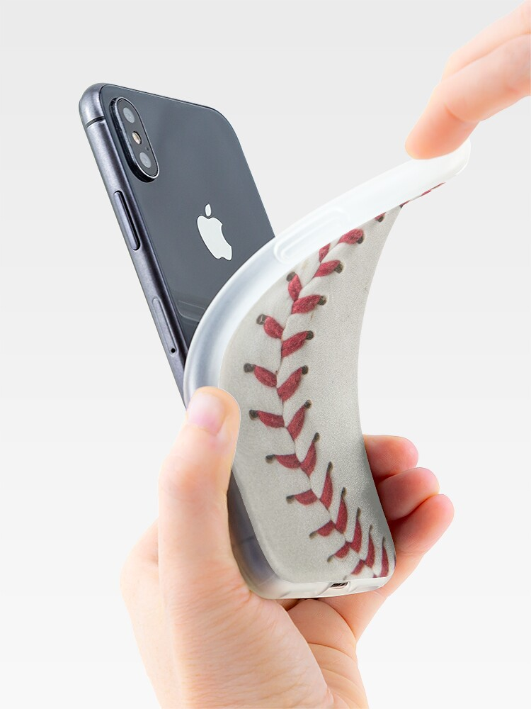 Alternate view of Worn Baseball iPhone Cases & Covers