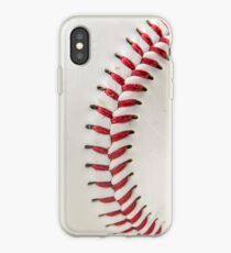 Worn Baseball iPhone Case