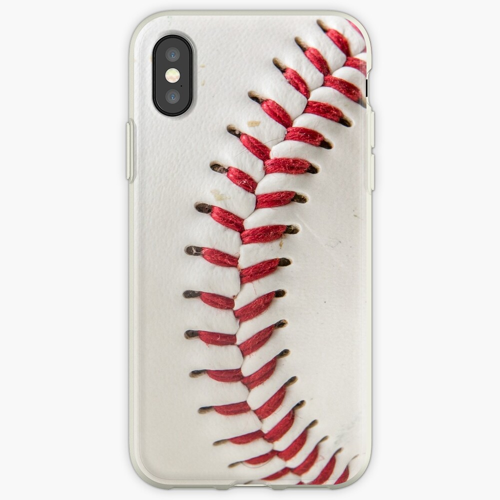Worn Baseball iPhone Cases & Covers
