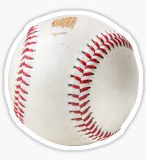 Worn Baseball Sticker