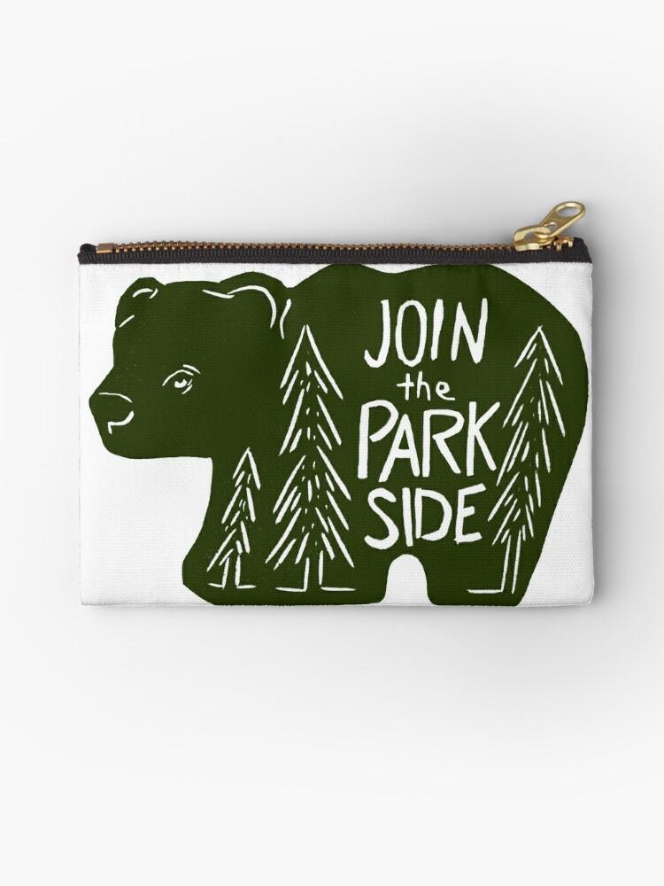 «Únete al oso del lado del parque» de craftyhag