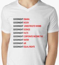Goodnight Obama Goodnight Moon Goodnight Science Tee Shirt  T-Shirt