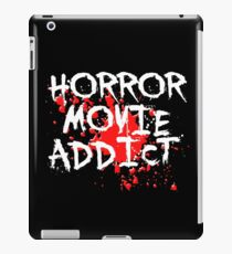 Horror Movie Addict iPad Case/Skin