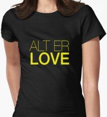 Skam- Alt Er Love- EVAK Women's Fitted T-Shirt