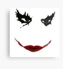 Creepy Smile Metal Print