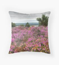 Dull Day at Arne Throw Pillow