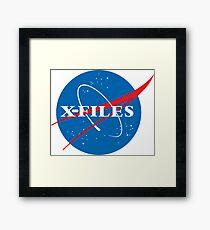 X-Files NASA Logo Framed Print