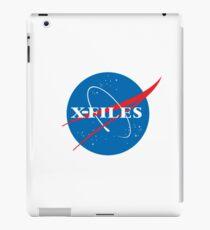 X-Files NASA Logo iPad Case/Skin