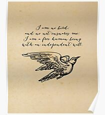 Jane Eyre - I Am No Bird Poster