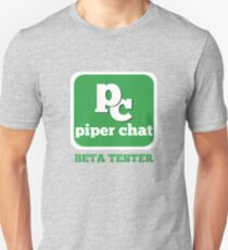 Piper Chat Beta Tester Pied Piper Compression Algorithm T-shirt Unisex T-Shirt