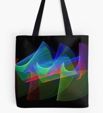 Light Painting Color 1 Tote Bag