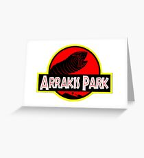 Arrakis Park! Greeting Card