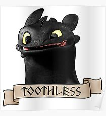 Toothless Smile Poster