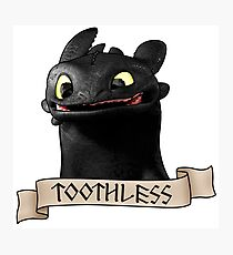 Toothless Smile Photographic Print