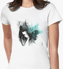 This Confession Means Nothing: Turquoise (street art acrylic painting portrait) T-Shirt