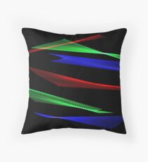 Light Painting Color 8 Throw Pillow