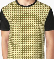 Ocre Triangulate Graphic T-Shirt