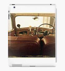 1940s classic car interior iPad Case/Skin