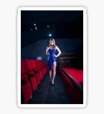 Cinema latex dress Sticker