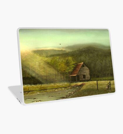 SEASONED, Acrylic Painting, for prints and products Laptop Skin