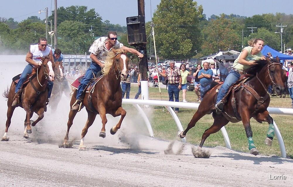 Horse Race by Lorrie
